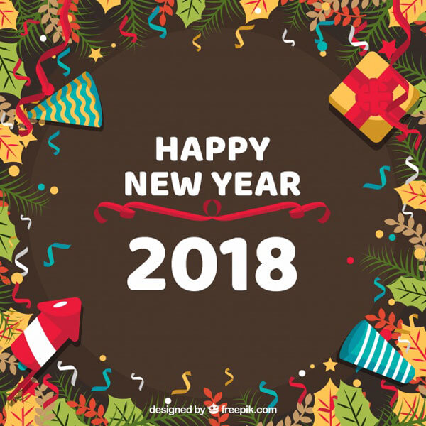 Happy New Year 2018 Wishes,Greetings,Wallpapers & Photos Download