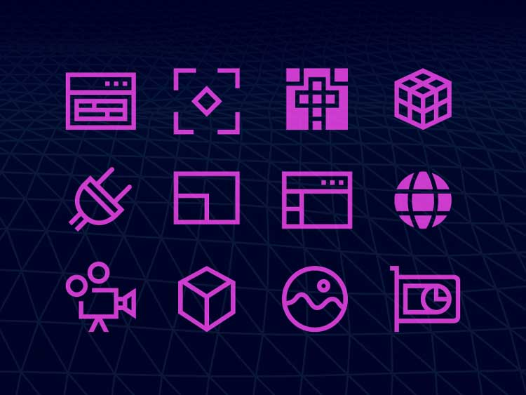 Windows 10 3d Graphics icons Free Download
