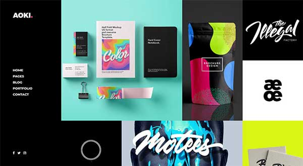 Beautiful Masonry Portfolio WordPress Themes 2018