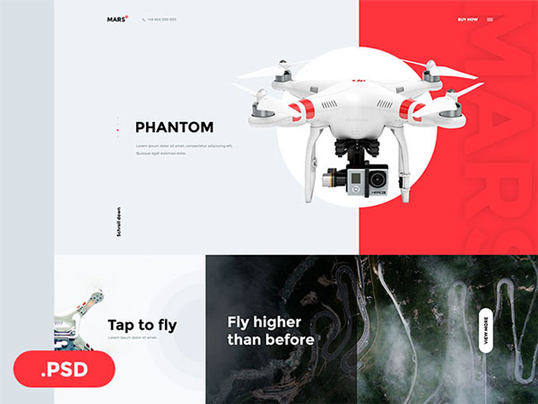 High Quality Web Templates PSD Free Download