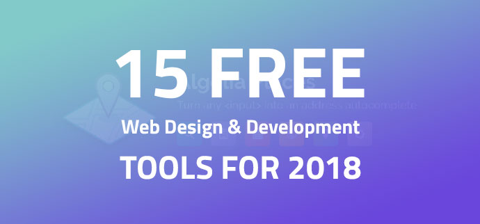 Free Web Design & Development Tools In 2018