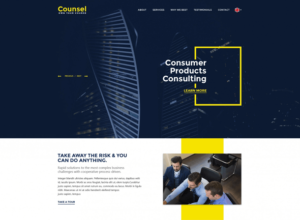 free business psd web template 2018