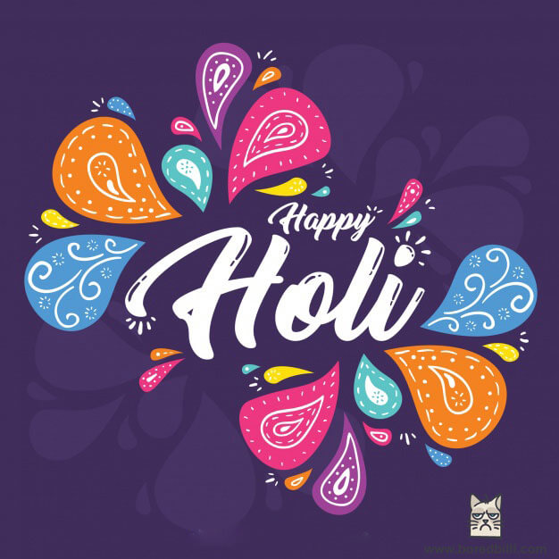 holi background 2018