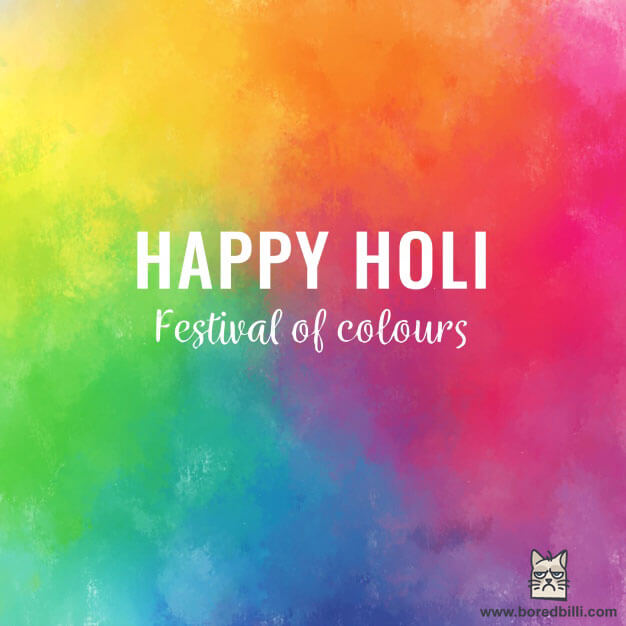 happy holi 2018