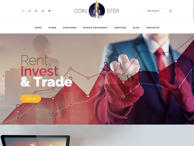 Best Bitcoin & Cryptocurrency WordPress Themes