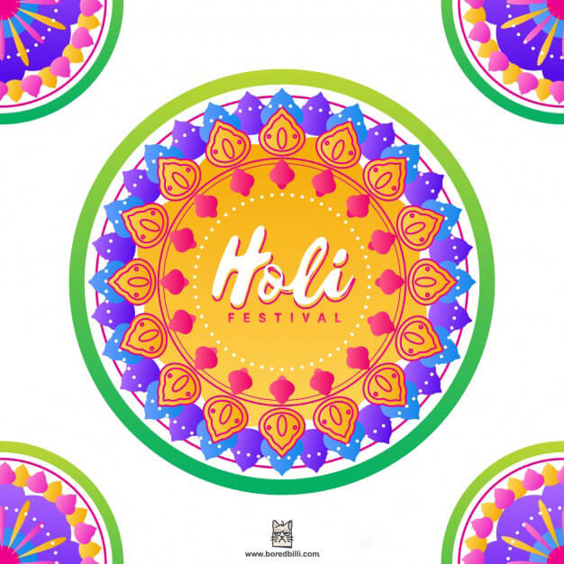 happy holi facebook