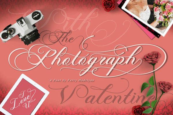 photography wedding font