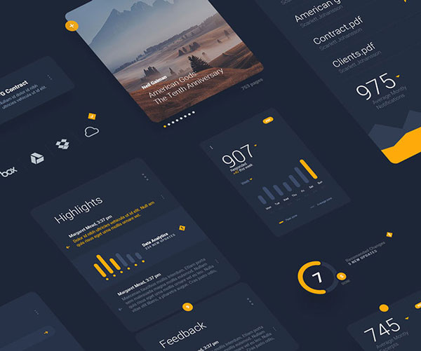 Free Mobile UI Templates Download