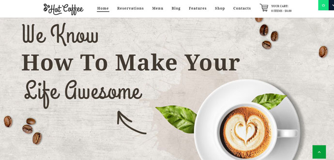 coffee cafe theme