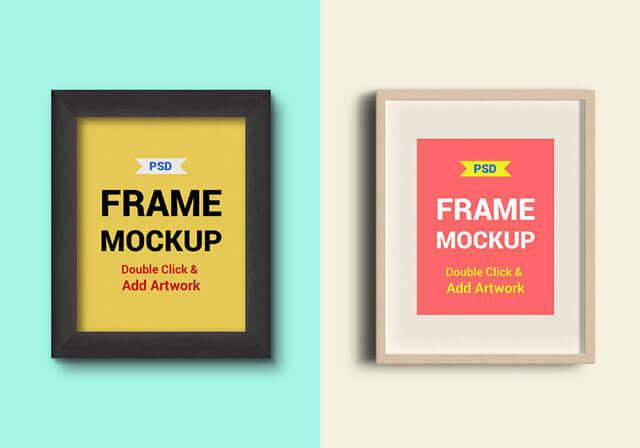 Frame Mockup Free PSD