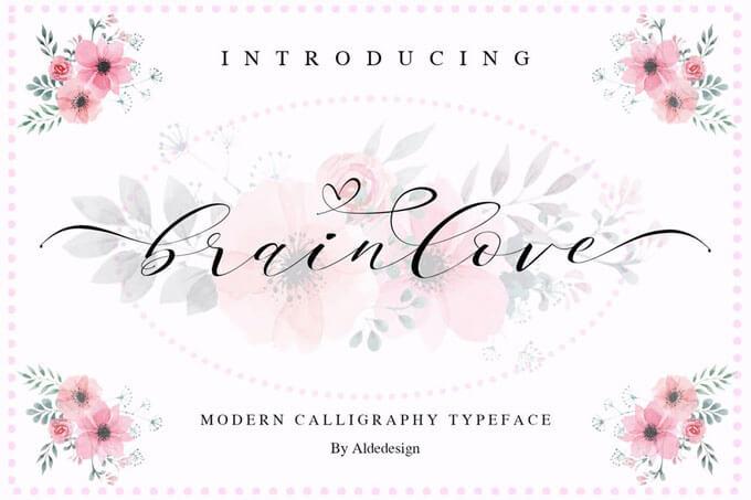 love wedding font