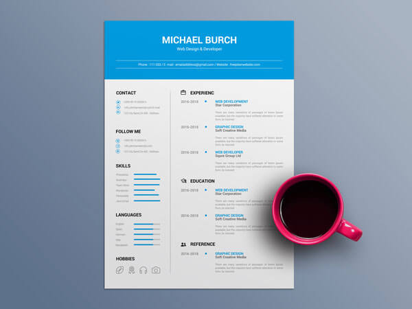10 Brilliant Resume Templates Free Download In 2019