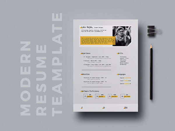 Brilliant Resume Templates Free Download