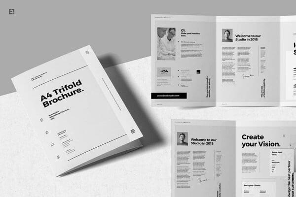 12 Best Tri-Fold Brochure Templates For InDesign 2018