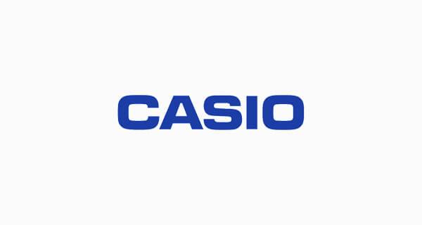 casio logo font download