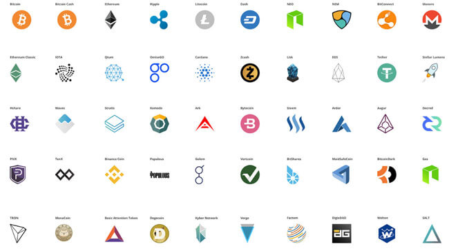 crypto currency icons free download