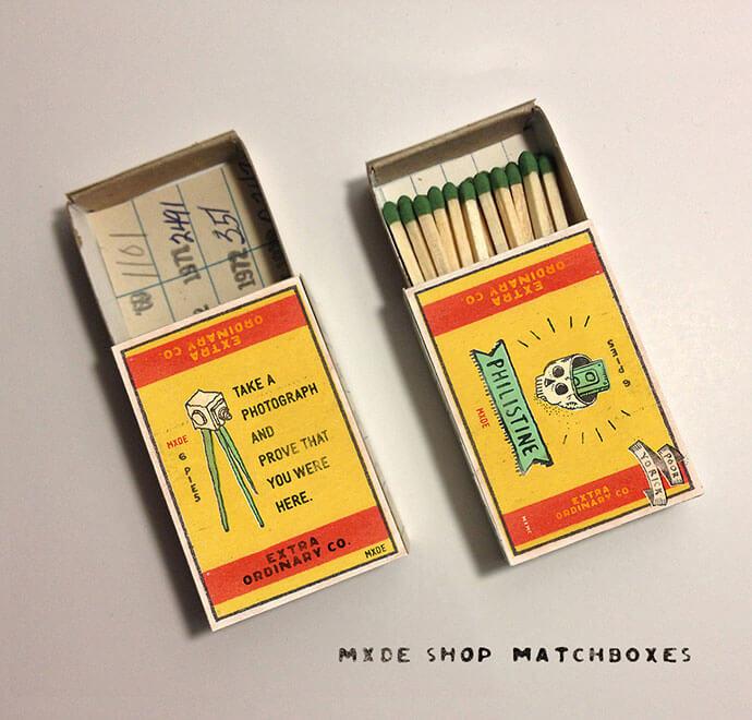 Matchbox Cover Designs