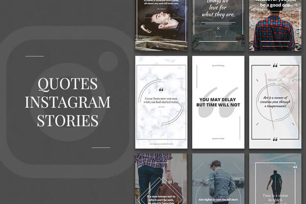 quotes Instagram Stories PSD Templates