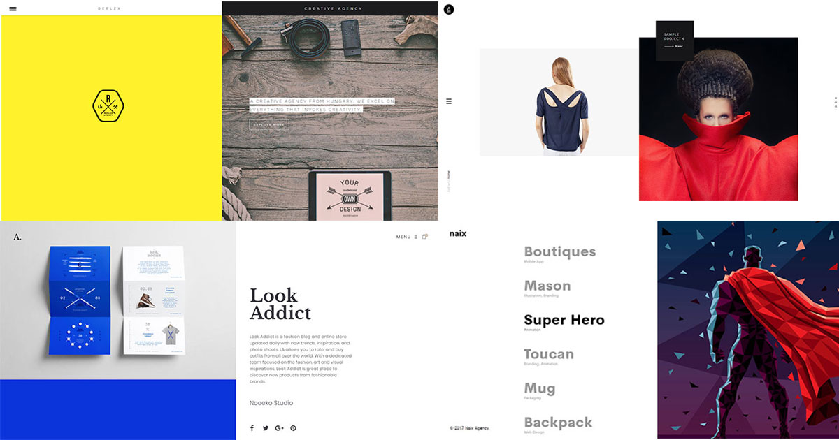 15 Creative Split Screen Portfolio WordPress Themes 2018