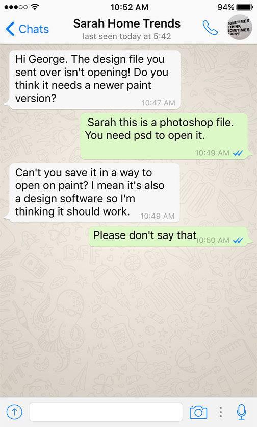 designer funny