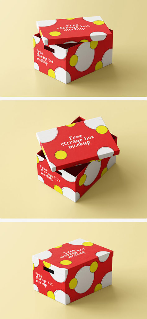 Box Mockups PSD Download