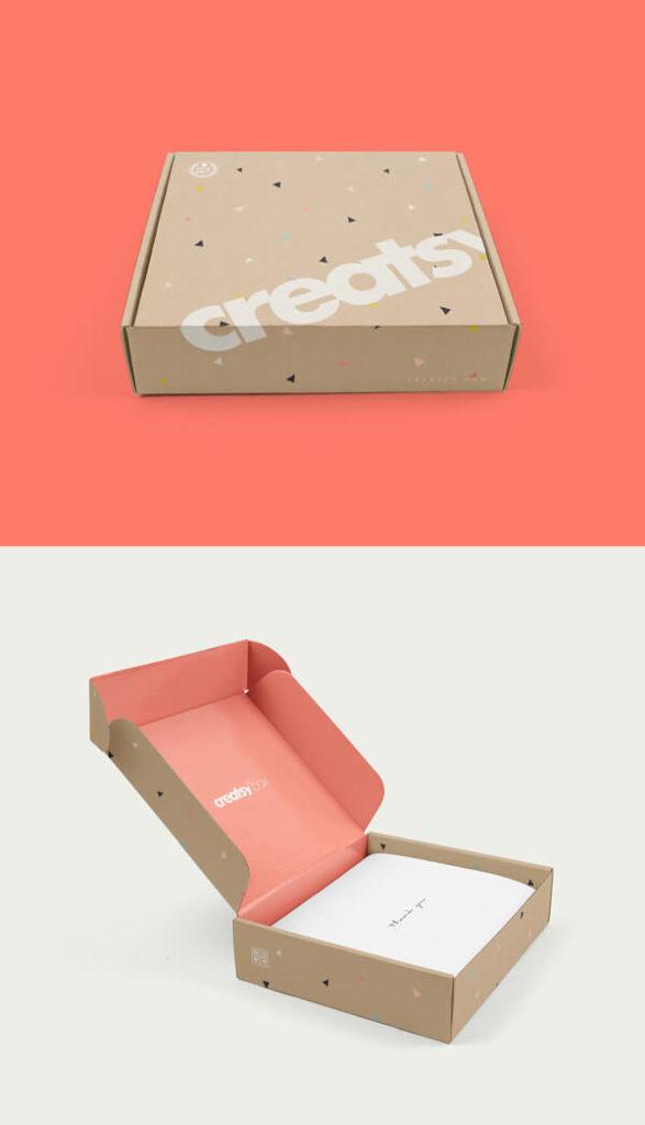 Free Box Mockups PSD