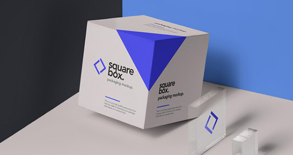 Free Realistic Box Mockups PSD Download 2018
