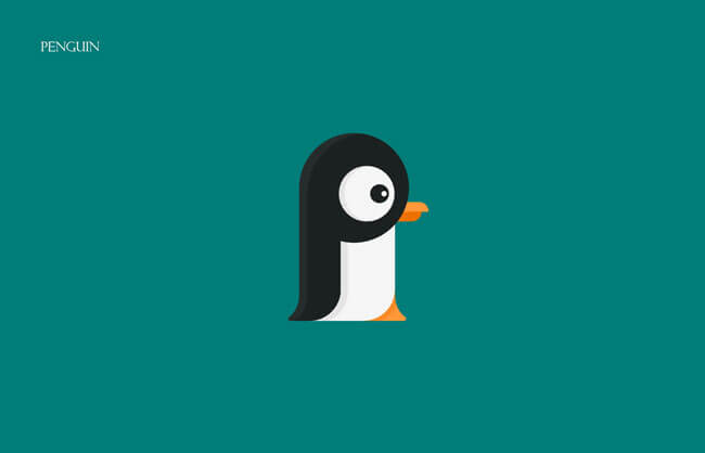 Penguin Clever Alphabetical Logos
