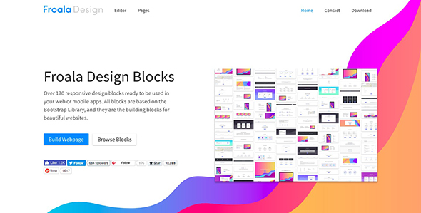 Best Free Bootstrap Html UI kit