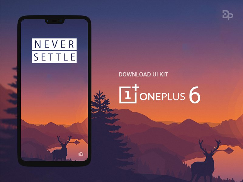 One Plus 6 Mockup free download