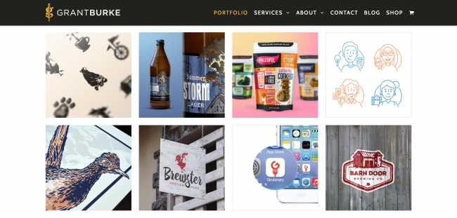 Graphic Designers Portfolio Websites