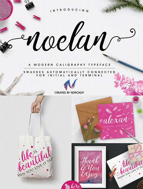 Best Free Calligraphy Fonts 2018