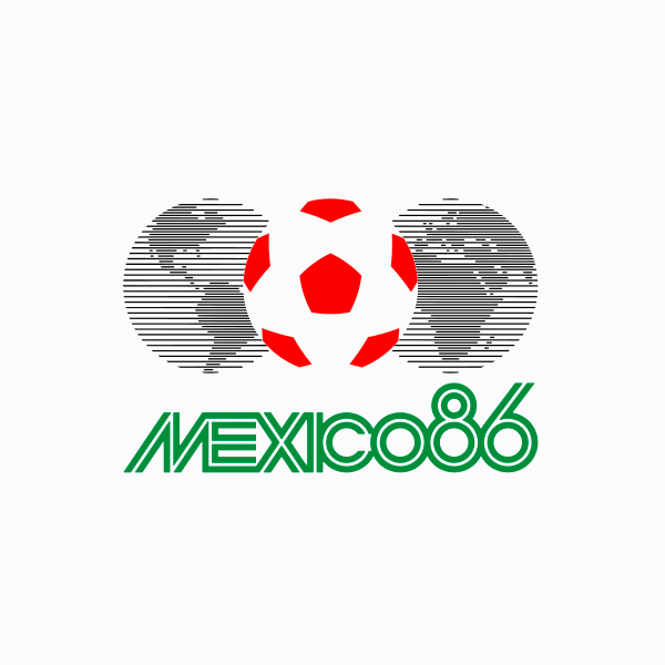 FIFA World Cup Logo mexico 1986