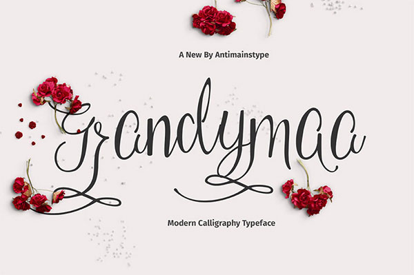 Free Calligraphy Fonts 2018