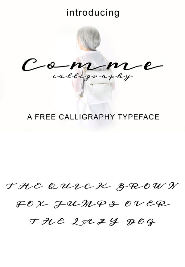 script Free Calligraphy Fonts