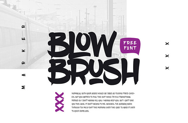brush Free Calligraphy Fonts