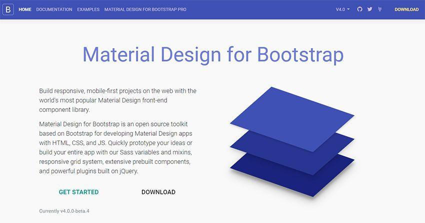 15 Best Free Bootstrap Html UI kit Download 2018