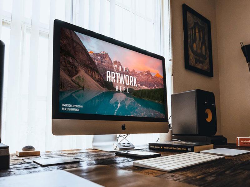 15+ Free iMac Mockup PSDs Templates In 2018