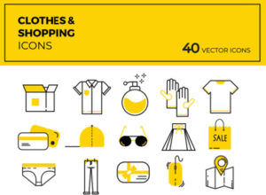 Free Clothes & Shopping Icons (Ai, PSD, EPS, PNG)