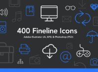 FREE Fineline Icons Set