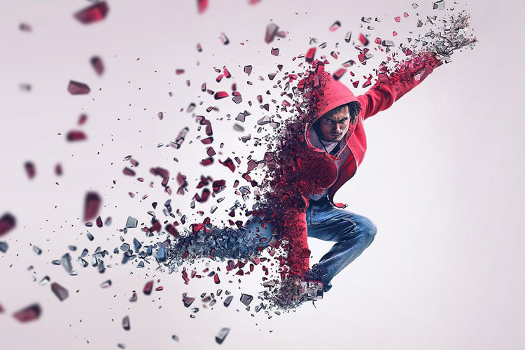 Dispersion Best Creative Photoshop Actions