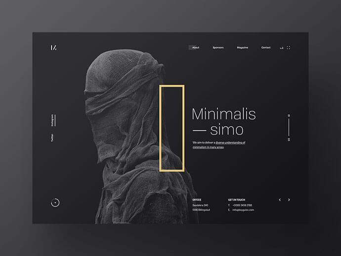 dark ui design inspiration