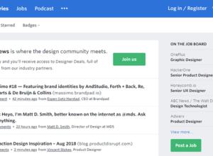 designer news forums