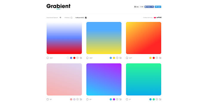 gradient inspiration