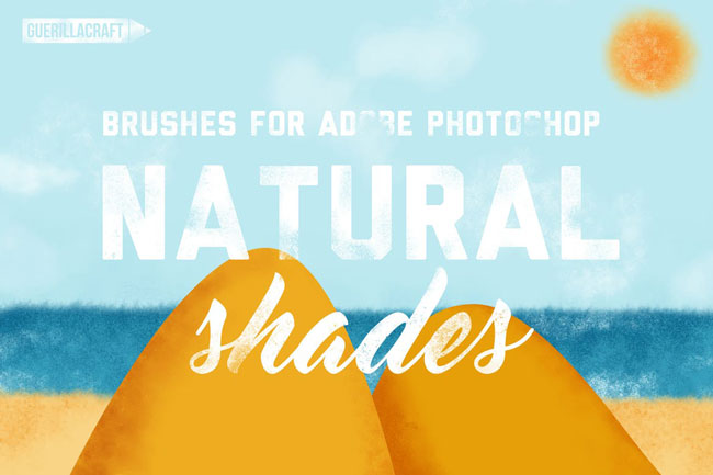 Natural Brushes For Photoshop