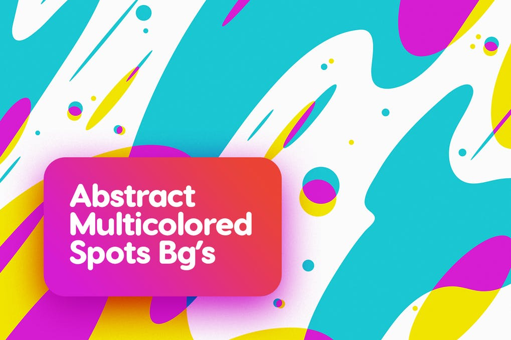 Multicolored Spots Backgrounds