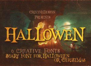 Halloween Fonts 2019