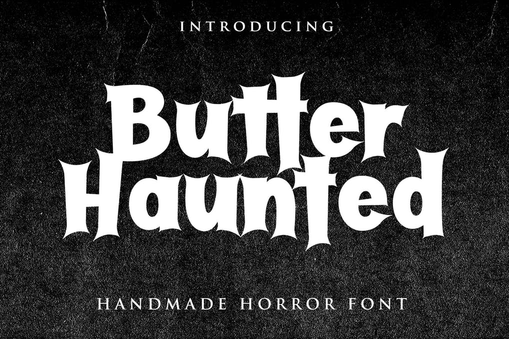 dark Scary Halloween Fonts