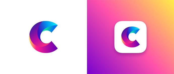 3D Gradient Logo Designs