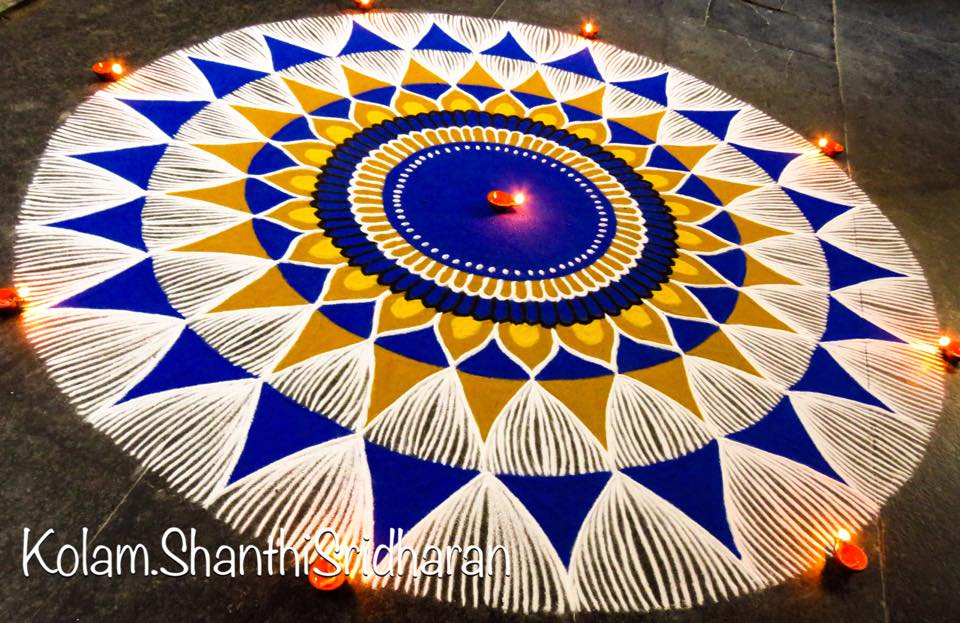 beautiful rangoli design